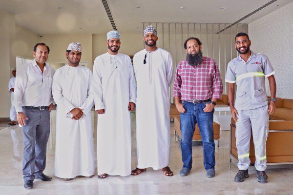 Ali Al Habsi Visit to Abaad International Holding Office